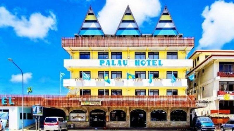 Hotel Palau küçük ada ülkesi Palau'nun ilk oteli